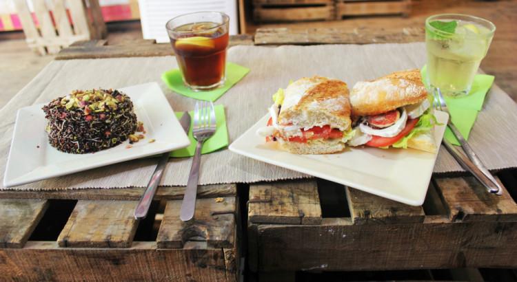 Vegetarian Food At Tuyo In Barcelona